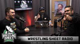 wrestling sheet radio ryan satin wwe backstage nxt dynamite raw smackdown podcast