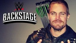 stephen amell wwe backstage promo school