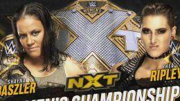 shayna baszler rhea ripley nxt womens title match
