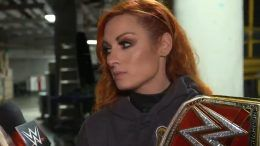 becky lynch wwe raw dark match absent two weeks