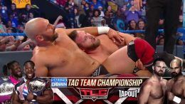 the revival tlc tag team title shot smackdown new day
