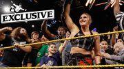 rhea ripley interview nxt women's title win shayna baszler triple h
