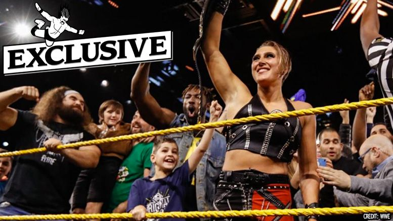 Rhea Ripley On Nxt Women S Title Win What Happened After