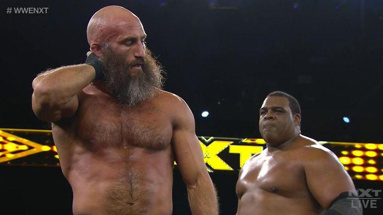 wwe nxt triple threat match finn balor tommaso ciampa keith lee nxt title adam cole