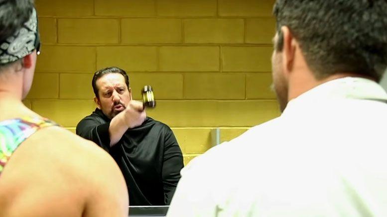 wrestlers court impact wrestling joey ryan tommy dreamer