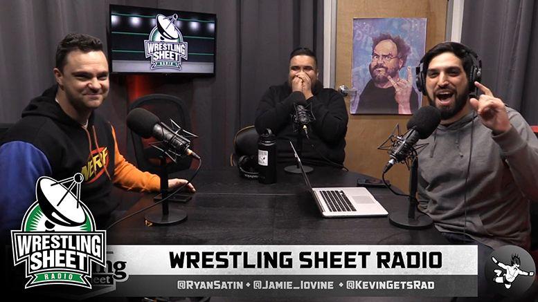 wrestling sheet radio ryan satin wwe backstage