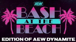 all elite wrestling aew bash at the beach tag team match