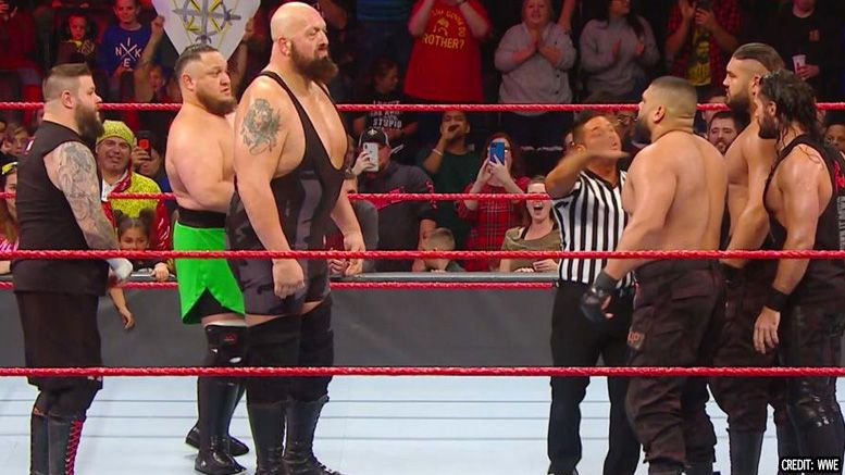 the big show returns wwe wrestles match raw results video