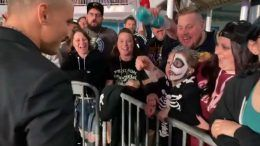 darby allin surprises young fan video chris jericho cruise aew all elite wrestling rock n wrestling rager at sea
