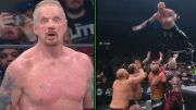 ddp diamond dallas page aew dynamite bash at the beach video