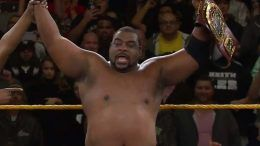 keith lee wins nxt north american championship title belt video roderick strong