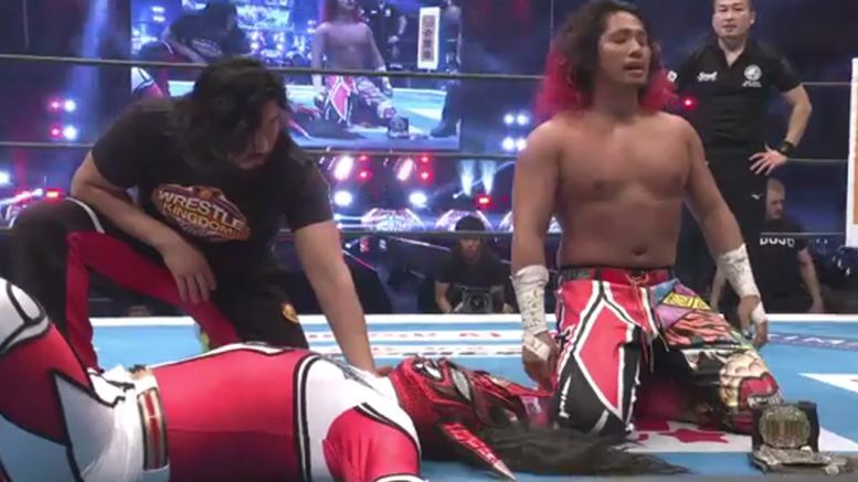 jushin thunder liger final match video wrestle kingdom 14 new japan njpw results