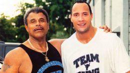 rocky johnson dead dies death passed passes away the rock dwayne
