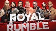 royal rumble matches set smackdown roman reigns daniel bryan the fiend lacey evans bayley shorty g sheamus