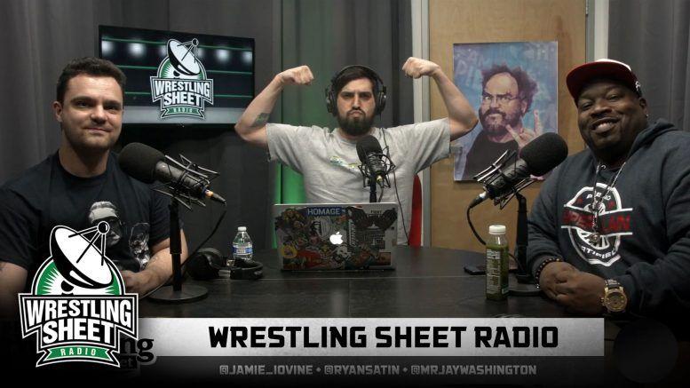 wrestling sheet radio aew nxt wwe raw smackdown dynamite samoa joe cage match wardlow