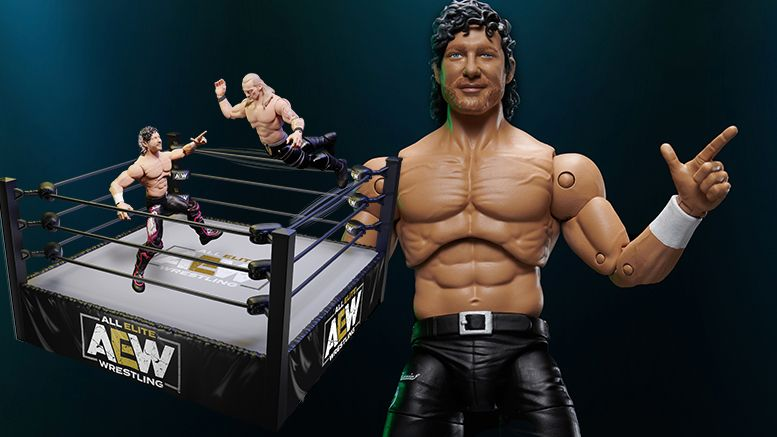 aew toys action figure line photos pictures video commercial