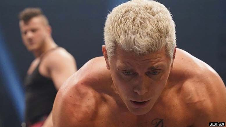 cody rhodes lashings photo damage
