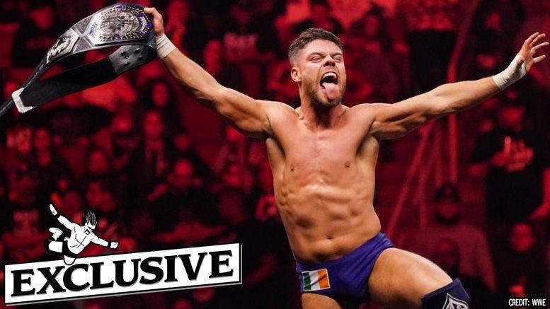 jordan devlin nxt cruiserweight championship champion interview wwe uk 205 live