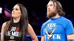 daniel bryan brie bella nervous concern coronavirus wrestling wwe smackdown wrestlemania 36