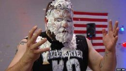 kevin owens wwe who threw pie vince mcmahon 4th of july raw