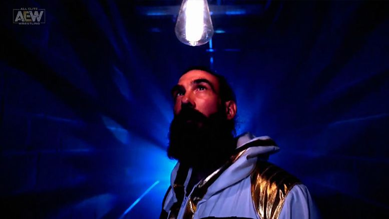 luke harper brodie lee the exalted one reveal revealed video aew dynamite