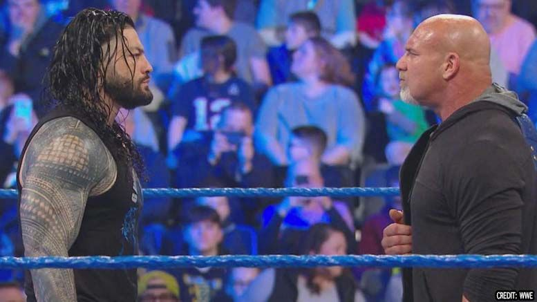 roman reigns confirms reports wrestlemania 36 pulled out pull out of not wrestling goldberg decision explain