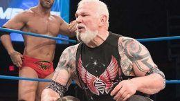scott steiner impact wrestling collapsed hospital emergency room rushed