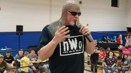 scott steiner promo health scare collapse backstage impact wrestling