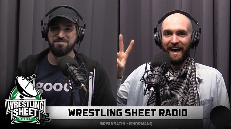 wrestling sheet radio ryan satin fiend goldberg aew revolution matt hardy cody rhodes young bucks nxt aew wwe raw smackdown