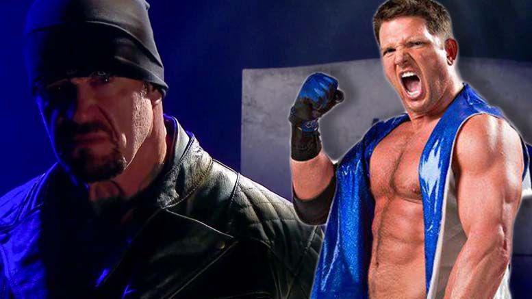aj styles tna wrestling impact undertaker wrestlemania boneyard match promo raw