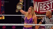 charlotte flair wins nxt women's championship champion wrestlemania 36 rhea ripley