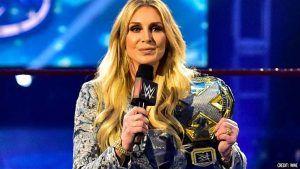 WWE Charlotte Flair NXT Womens Championship Replica Side Plate Box Set