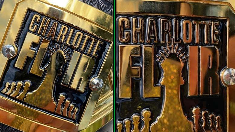 charlotte flair side plates nxt women's title championship