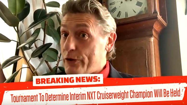 nxt cruiserweight championship interim tournament jordan devlin