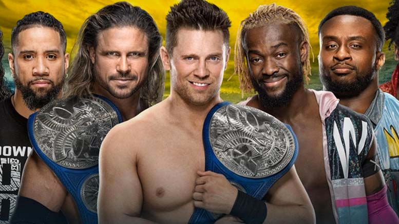 the miz out wrestlemania smackdown tag title match change wrestlemania 36