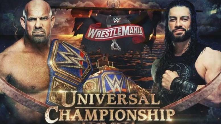 roman reigns unique manner wrestlemania 36 universal title match removed decision