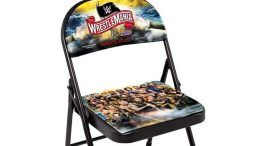 wwe wrestlemania 36 chairs for sale