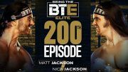 young bucks being the elite 200th 200 episode matt jackson nick aew all elite wrestling