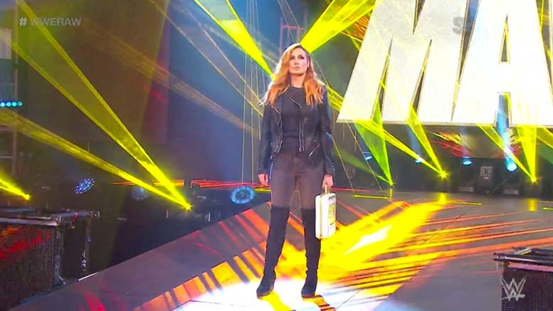becky lynch raw announcement relinquish women's title asuka pregnant pregnancy mother