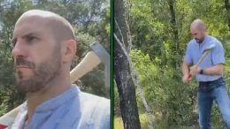 cesaro man's man recreation video uno upupdowndown steven william regal