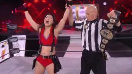 hikaru shida aew double or nothing wins aew womens world championship title nyla rose