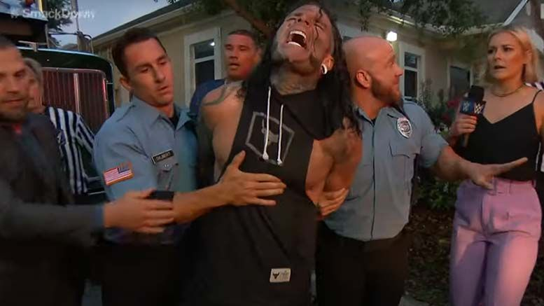 jeff hardy dui crash angle smackdown sobriety test