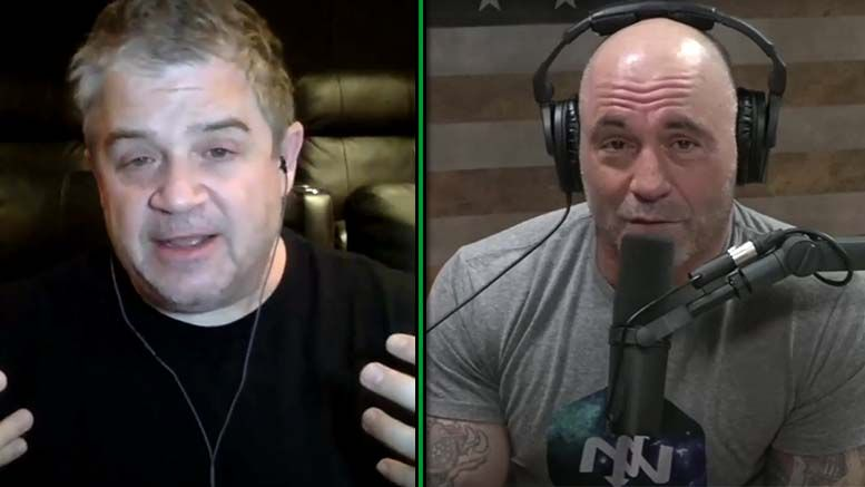patton oswalt joe rogan wrestling fake real conversationd discussion defense video experience