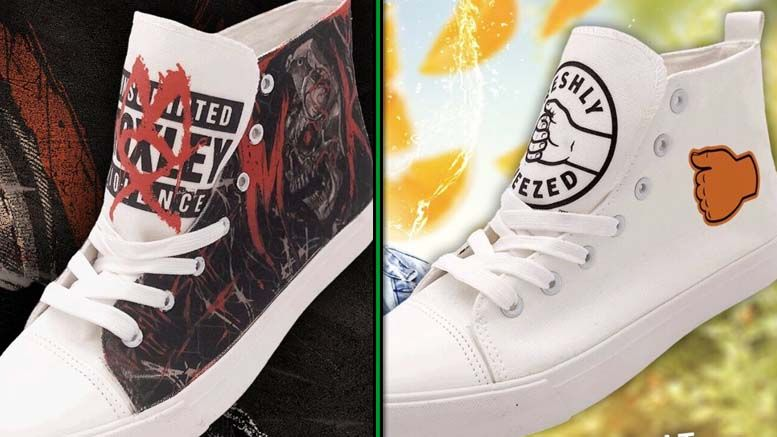all elite wrestling shoes photos footwear moxley orange cassidy
