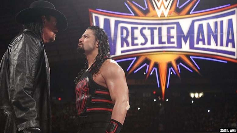 undertaker roman reigns wrestlemania disappointed interview espn