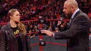 triple h ronda rousey of course wwe wants her back