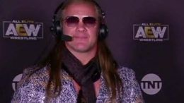 chris jericho commentary night one aew fyter fest