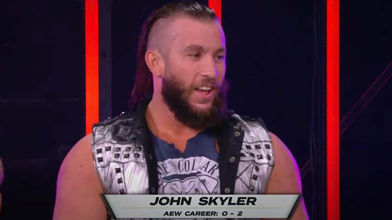 john skyler injured aew dark knee injuries