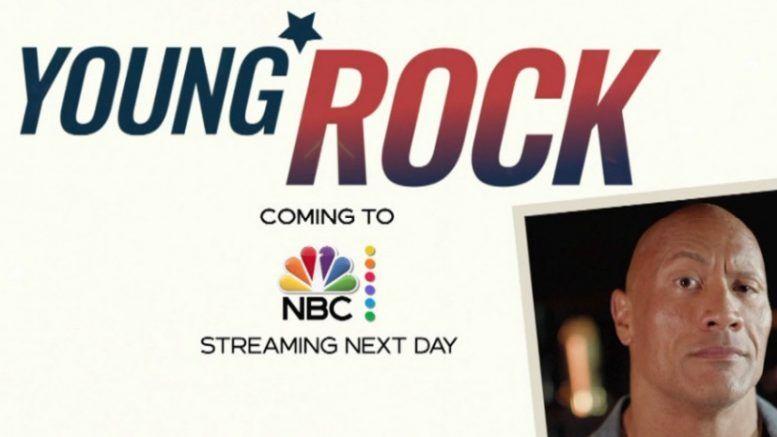 young rock advertisement trailer nbc 30 rock reunion special dwayne johnson