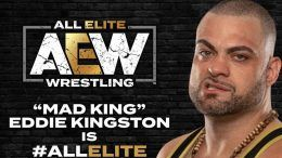 eddie kingston signs all elite wrestling aew